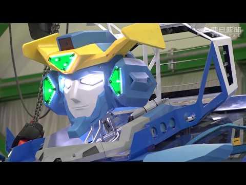 ヒト型からクルマに トランスフォームするロボット「J-deiteRIDE」を開発 ソフトバンク系が開発