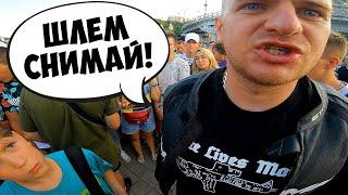 РУССКИЙ В КИЕВЕ ЭТО ОПАСНО? Реакция УКРАИНЦЕВ на РОССИЯНИНА!