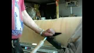 Wood Turning A Log On A Shopsmith Part 1