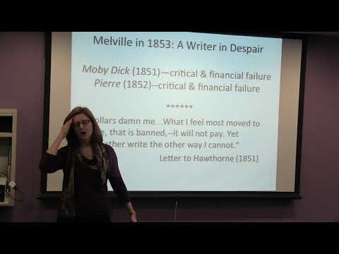 """Herman Melville and """"Bartleby, the Scrivener"""""""