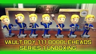 fallout 4 vault boy 111 bobbleheads series 1 unboxing
