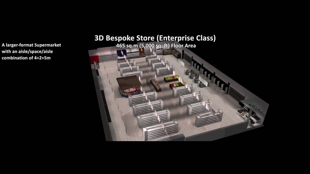 Buzz 3D Virtual Shelf, 3D Virtual Store, 3D Bespoke Store Environments