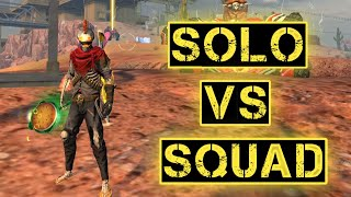 THE SOLO VS SQUAD MASTER || BACK TO BACK BOOYAH IN KALAHARI 🔥 !!!!
