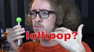 Lollipop Pen Drawing & Fan Portrait \\ You Lob it I Blob it