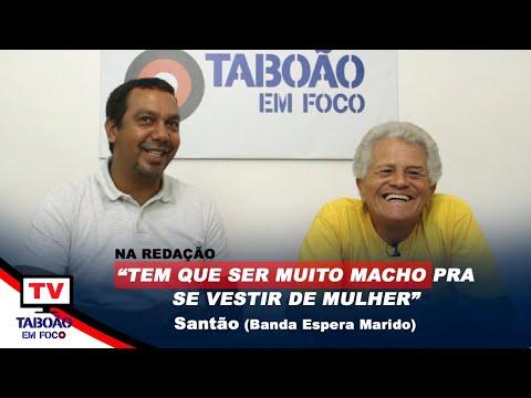 """""""Na Redação"""" com Santão, da Banda Espera Marido"""