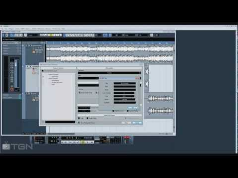 Basics of Cubase 5: How to record and export