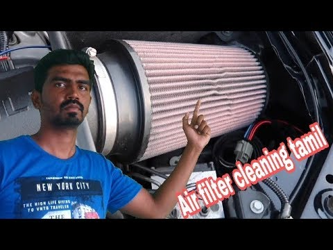 How to clean AirFilter of Any Bike /Tamil /pulsar airfilter cleaning tamil / RX100