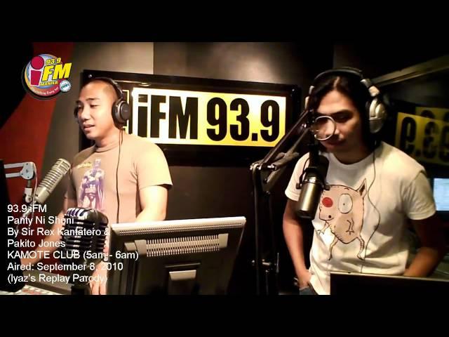 IYAZ REPLAY PARODY: PANTY NI SHONI - Sir Rex Kantatero & Pakito Jones