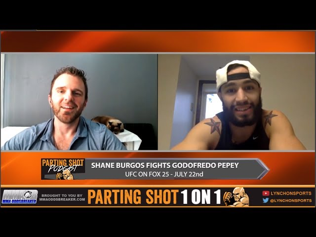 UFC on FOX 25's Shane Burgos predicts a 1st-round KO of Godofredo Pepey