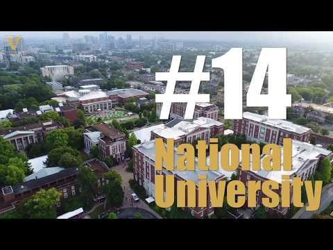 Vanderbilt 14th in 2019 U.S. News rankings; named one of nation's best values
