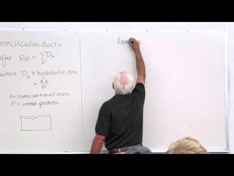 Fluid Mechanics: Viscous Flow in Pipes, Laminar Pipe Flow Characteristics (16 of 18)