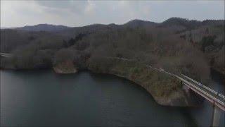 ファントム3 ダムで暴走 墜落