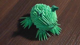 Модульное оригами лягушка (жаба) мастер класс(Модульное оригами лягушка (жаба) мастер класс http://bringingsuccess.ru/origami.php В данном видео мы с Вами узнаем пошагову..., 2014-12-01T14:37:11.000Z)