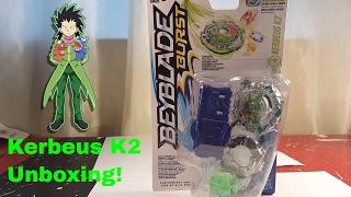Kerbeus K2 Unboxing!   Beyblade Burst