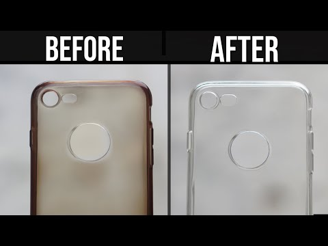 How to Clean Yellowness of Transparent Mobile Cover | Clean Silicon Cover at Home