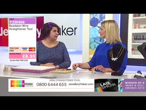 Biwa Pearls on The Late Show with Vicky Field (JewelleryMaker) LIVE 25/02/2015