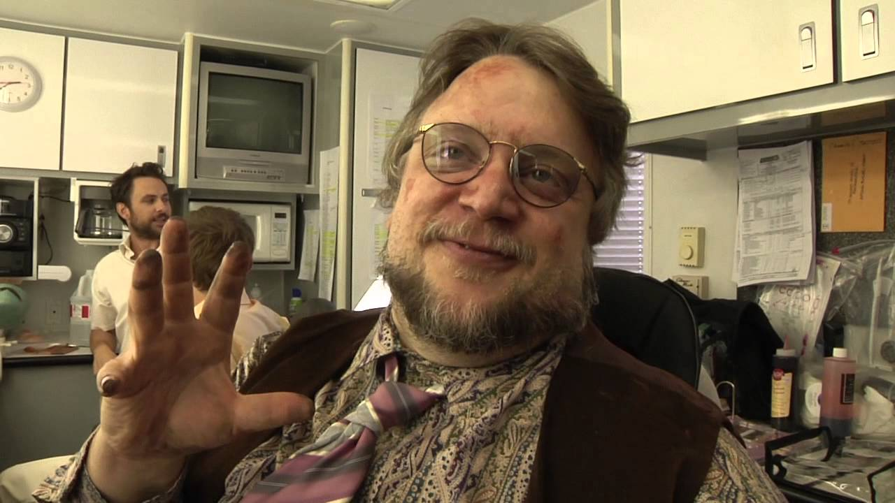Sunny Behind The Scenes Guillermo Del Toro As Pappy Mcpoyle Youtube