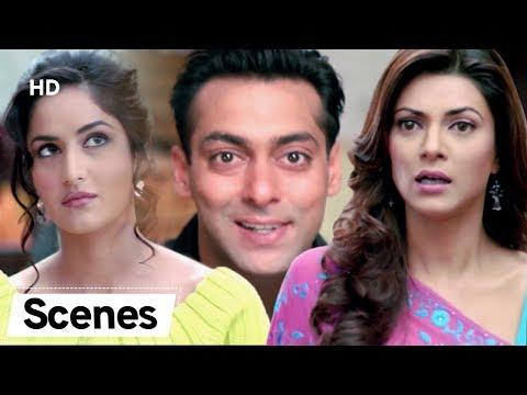 Hilarious Comedy Scenes  | Salman Khan | Katrina Kaif | Sushmita Sen | Maine Pyaar Kyu Kiya