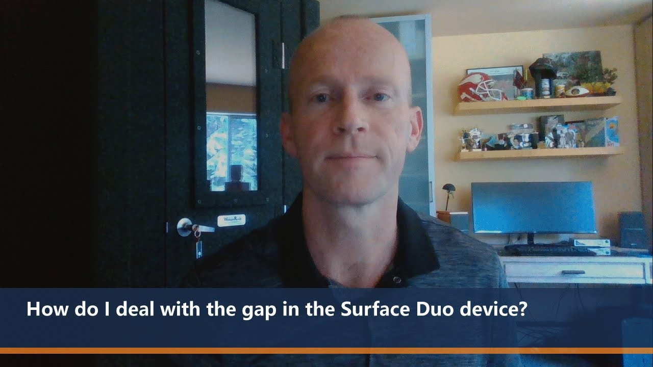 How do I deal with the gap in the device? | One Dev Question