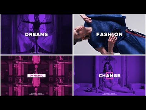 Upbeat Fashion - After Effects template - 동영상