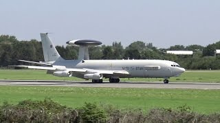 NATO AWACS | Arrival for Hamburg Airport Days 2015