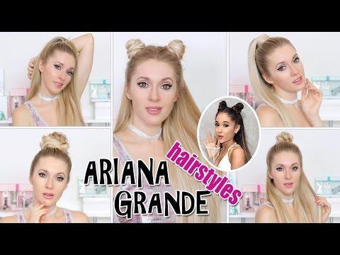 TOP 5 Ariana Grande hairstyles in 2-5 mins ★ TRENDING! super EASY & CUTE hair tutorial