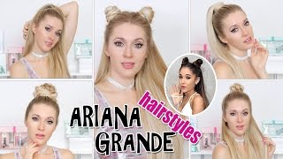 TOP 5 Ariana Grande hairstyles in 2-5 mins ★ TRENDING! super EASY & CUTE hair tutorial