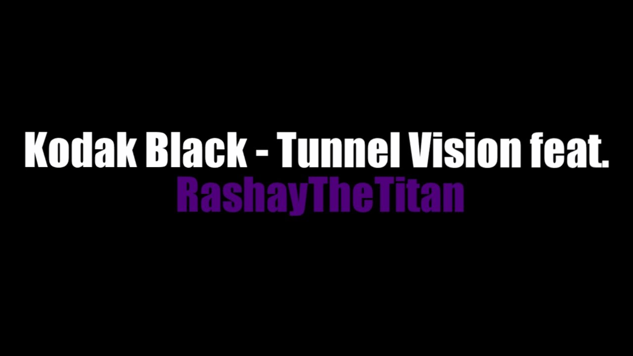 Kodak Black Tunnel Vision Roblox Music Video Ft Rashaythetitan Youtube