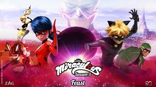 MIRACULOUS | 🐞 FEAST - OFFICIAL TRAILER 🐞 | Tales of Ladybug and Cat Noir