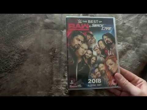 WWE The Best of Raw & Smackdown 2018 DVD Unboxing