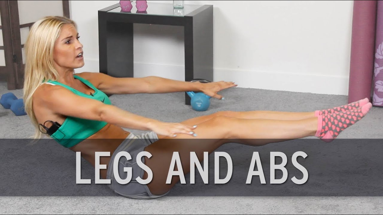 Legs and abs circuit workout youtube