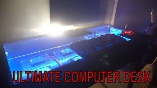 Custom Gaming PC Desk Case