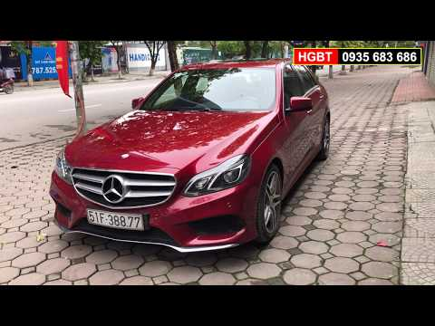 Cần bán gấp Mercedes Benz E250 AMG sản xuất 2015 giá TG chỉ 500 triệu |Bán thu hồi vốn Mercedes E250