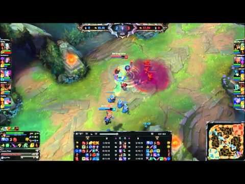 Ult + Flash Cassio Against Orianna