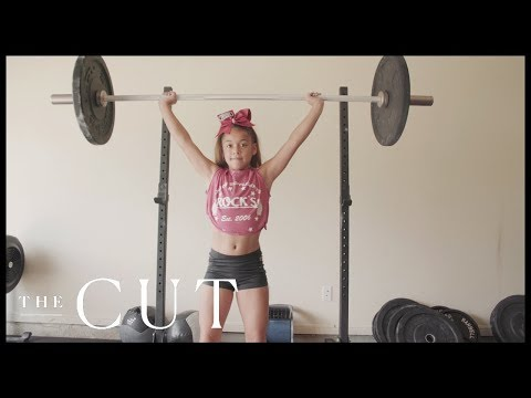 The 10-Year-Old Lifting More Than Her Body Weight