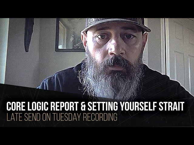 Core logic report and setting yourself strait