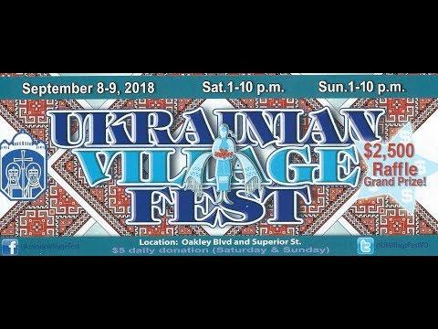 Ukrainian Village Fest in Chicago (Saturday, 09/08/2018)