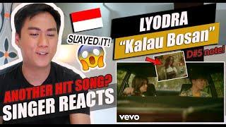 Lyodra - Kalau Bosan (Official Music Video) | SINGER REACTION