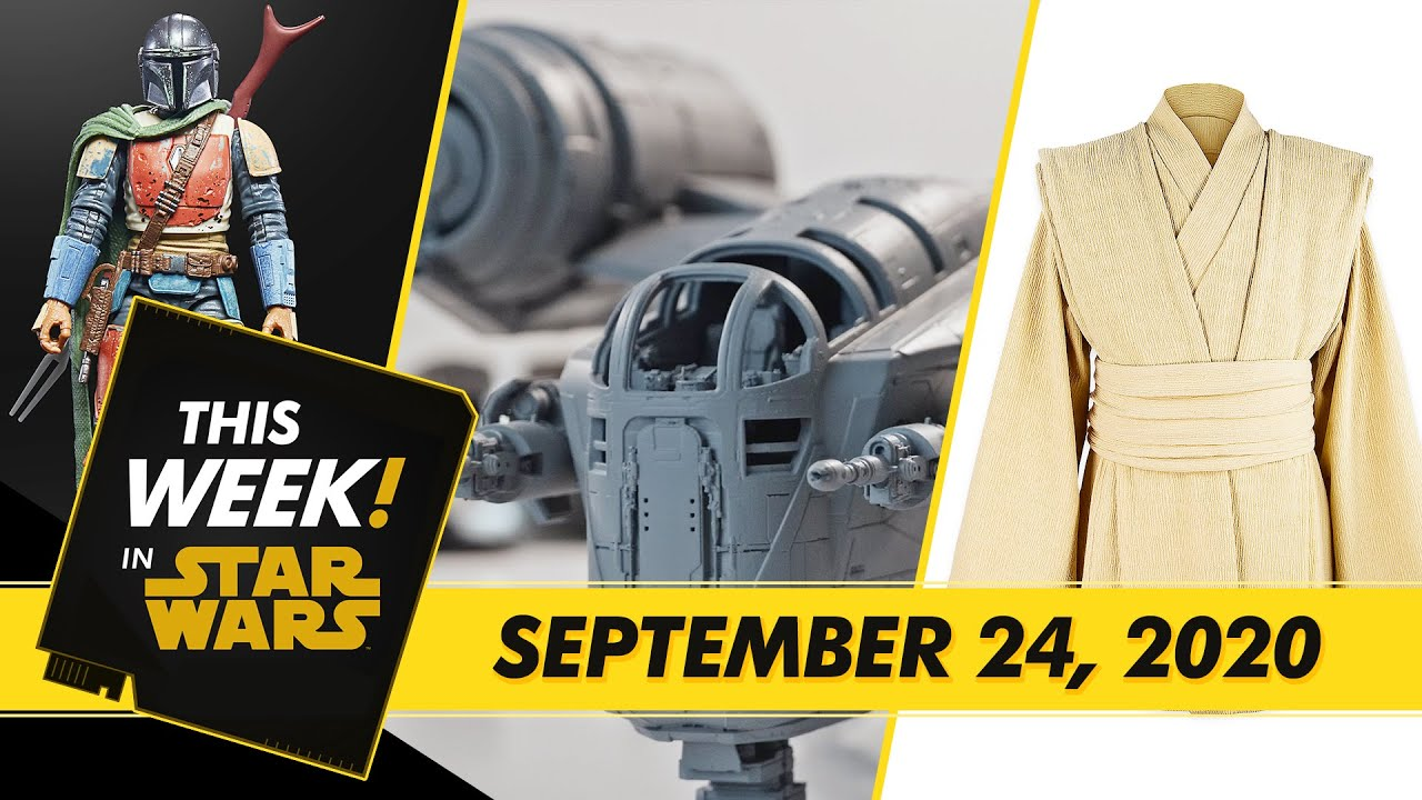 A New Lightsaber from Star Wars: The High Republic, Building The Mandalorian's Ship, and More!