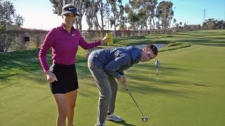 Randy gets a Callaway Epic Flash and a Michelle Wie putting lesson