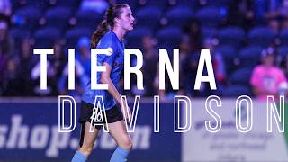 Newcomer  of the Year: Tierna Davidson - 2019 Red Stars Team Awards