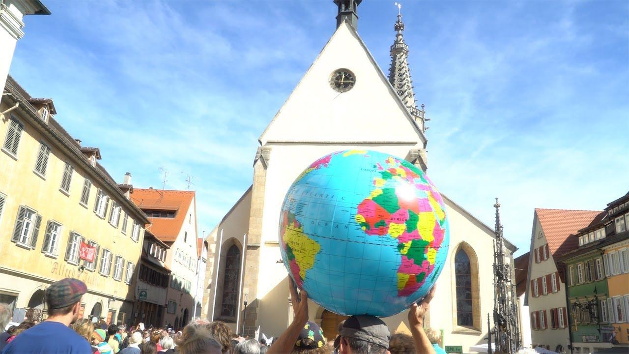 Alles fürs Klima - Friday for Future in Rottenburg