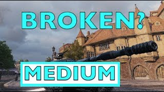 WOT - The Most Broken Overpowered Medium Tank | World of Tanks