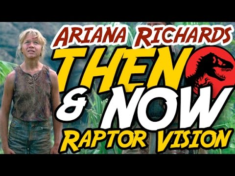 Ariana Richards  RAPTOR VISION  Then & Now