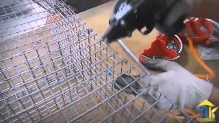 Сборка клетки для кроликов