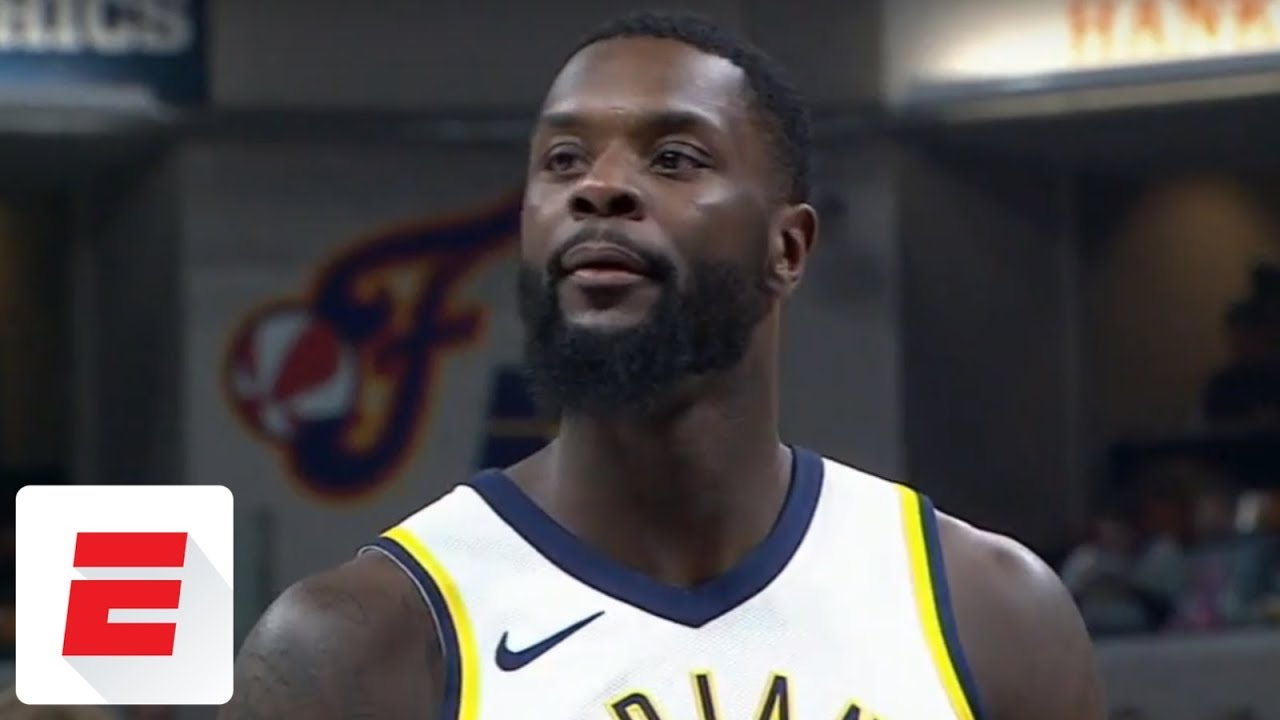 buy online 28af9 b560d Lance Stephenson s shoe falls apart in middle of Pacers  game vs. Lakers    ESPN