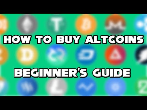 How To Buy Altcoins For Beginners