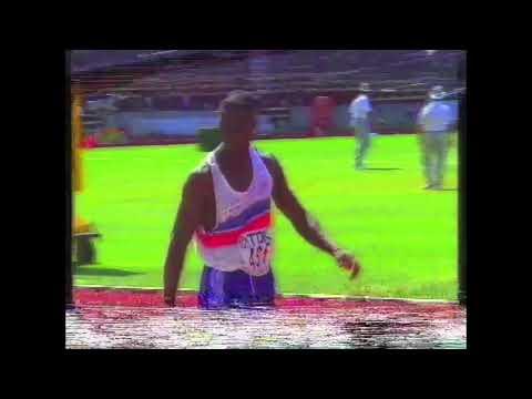 4251 World Track & Field 1993 Triple Jump Men Francis Agyepong