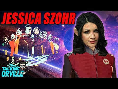 The Orville Casts Jessica Szohr For Season 2  TALKING THE ORVILLE