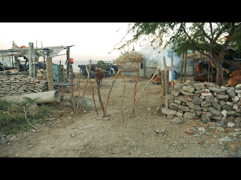 Indian Village Woman working at construction site,Gujarat,India.House in Rural Area.Women
